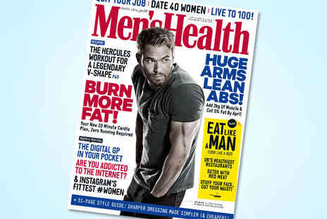 Mens Health Magazine - 12 Month 11 Issue Subscription to Mens Health Magazine - Save 57%