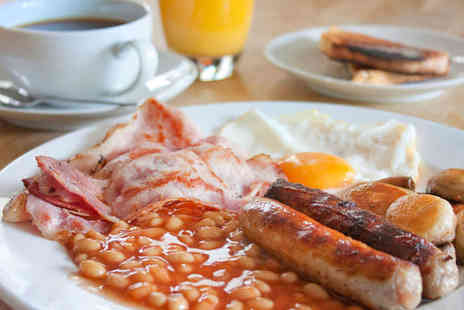 U F Coffee - Full English Breakfast or Vegetarian Full English Breakfast with Tea or Coffee Each for Two - Save 51%