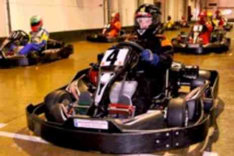 Northampton Indoor Karting - 90 Minute Indoor Go Kart Racing for One Person - Save 65%