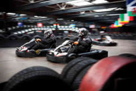 Cannon Raceway - Three 25 Lap Go Karting Sessions - Save 56%