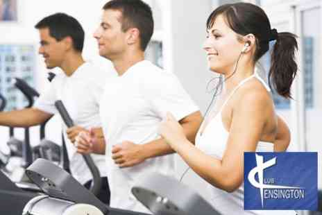 Club Kensington Gym - Ten Individual Day Passes Including Full Use of Facilities, Classes and 10 Sunbed Tanning Sessions - Save 88%