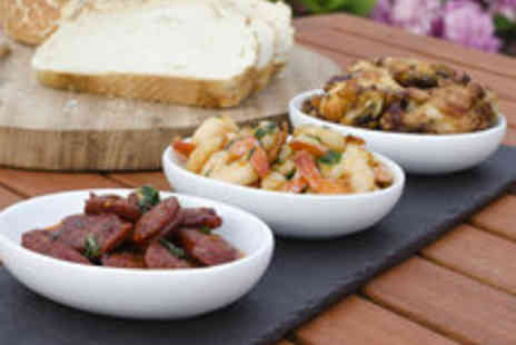 Malvarosa - Four Tapas Dishes for Two Including a Coffee or Tea - Save 56%