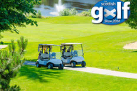 The Scottish Golf Show - Tickets to Golf Show Including Three Rounds of Golf - Save 50%