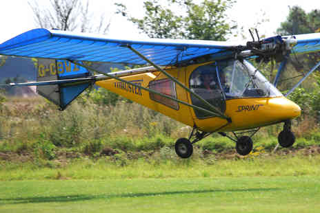 R M Aviation - One Hour Microlight Experience Including 30 Minutes Air Time - Save 55%