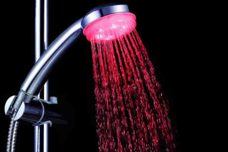 Juggernet.com - LED colour changing shower head - Save 60%