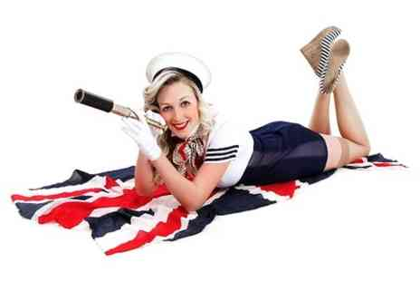 Hammond's Photography Studio - 50s Pin Up Makeover Photoshoot With Print For One - Save 58%