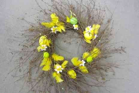 Brewhouse Crafts - Easter Wreath Workshop - Save 67%