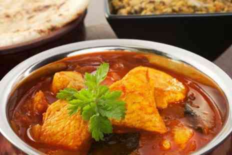 Ziggys Spice House - Indian Meal With Wine For Two - Save 40%