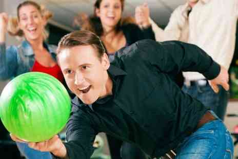 M & D's Theme Park - One Hour of Bowling For Up to Six - Save 50%