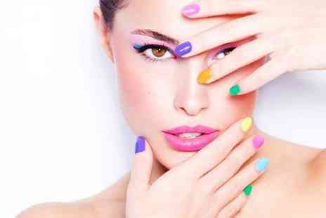 Total Beauty - Manicure or Pedicure - Save 53%