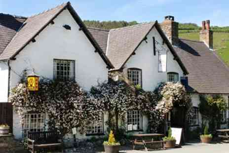 The West Arms -  North Wales Historic Inn Stay with Dinner - Save 45%