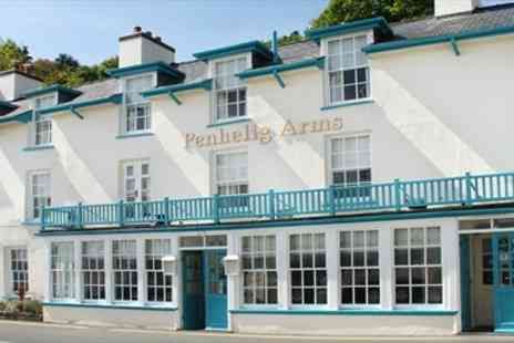 Penhelig Arms - Welsh Fishing Village Break with Meals - Save 48%