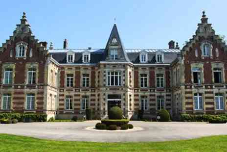 Hotel Chateau Tilques - French Chateau Stay with Dinner & Upgrade - Save 39%