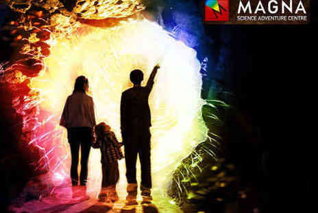 Magna - Tickets to Science Adventure Centre for Family of Three - Save 52%