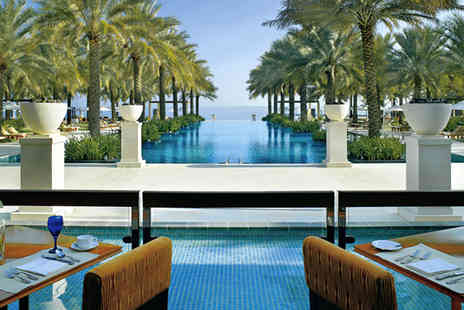 Al Bustan Palace - 5 star Oman holiday - Save 30%