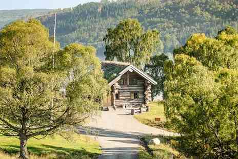 Eagle Brae Log Cabins - Log Cabin Stay in Scotland - Save 26%
