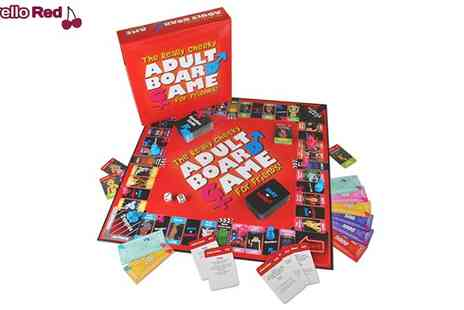 Morello Red - The Really Cheeky Adult Board Game - Save 48%