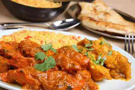 The Wee Curry Shop - Two course Indian meal for two with rice and naan - Save 50%