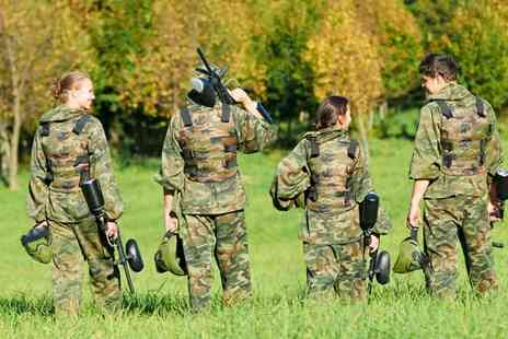 Frontline Paintball - Paintballing for two - Save 50%