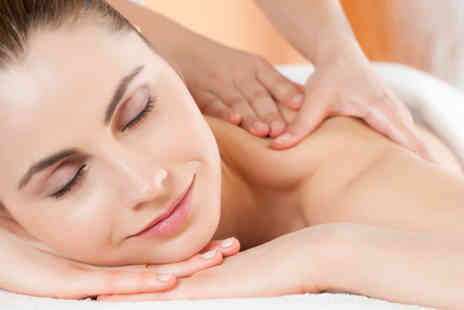 Glowing Salon - 90 min pamper package including full body massage scrub & luxury facial - Save 69%