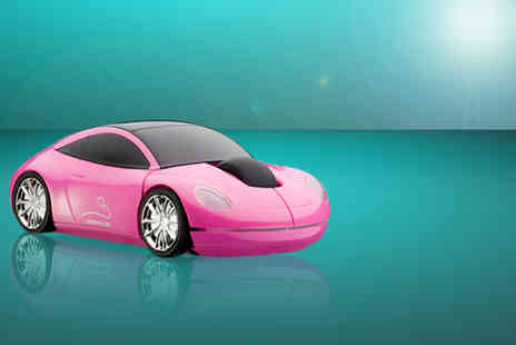 David Bailey Developments - Classic pink sports car mouse - Save 51%