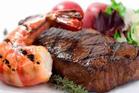 Da Mimmos - Two Course Surf and Turf Meal For Two - Save 64%