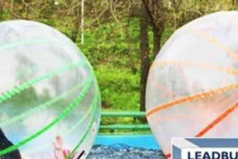 Leadburn Manor - Water Zorbing Experience For Two People - Save 75%