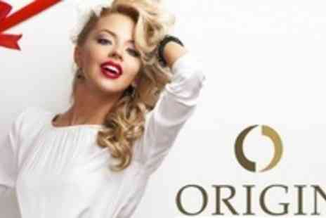 Origin Rejuvenation Clinic - Hair Up or Cut and Restyle, Plus Blow Dry and MOROCCANOIL Treatment - Save 70%