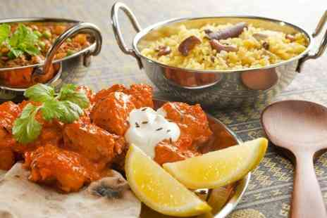 Dhaka Indian cuisine - Two Course Meal With Rice For Two - Save 50%