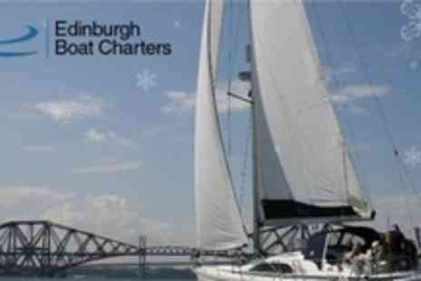 Edinburgh Boat Charters - Luxury Bridges and Islands Sailing Experience For Two - Save 63%