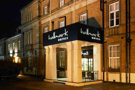 Hallmark Hotel Derby - Two nights at a Victorian four star hotel in Derby, including breakfast, a cream tea with sparkling wine and extras - Save 50%