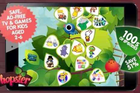 platomedia - TV Subscription & learning app Hopster Watch Ben & Holly Humf plus more favourites - Save 50%