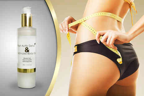 HKH Technology - 200ml bottle of Fast Activ Detox & Inch Loss Body Gel  - Save 58%