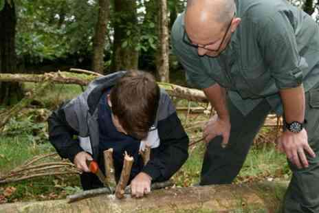 Serious Outdoor Skills - One Day Survival and Bushcraft Course - Save 61%