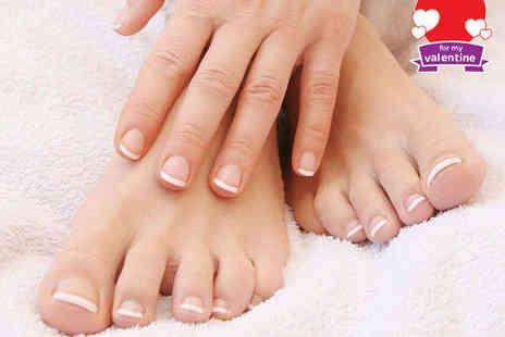 ImmaQulate Beauty - Manicure and Pedicure - Save 69%