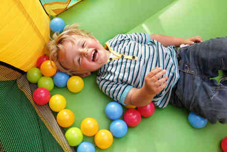 Jurassic Jungle - Five Childrens Soft Play Entry Passes - Save 58%