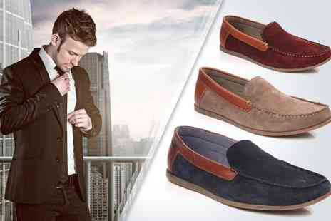 Unze London - Mens stylish suede loafers - Save 47%