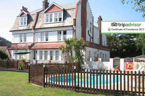 Yardley Manor - One night seaside stay for 2 including breakfast - Save 39%