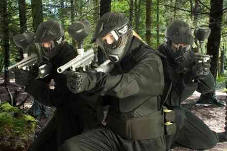 Horizon Paintball - Full Day With Ammo For Five - Save 83%