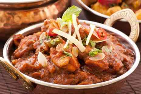 New Mogul Tandoori - Two Course Indian Meal With Wine For Two - Save 57%