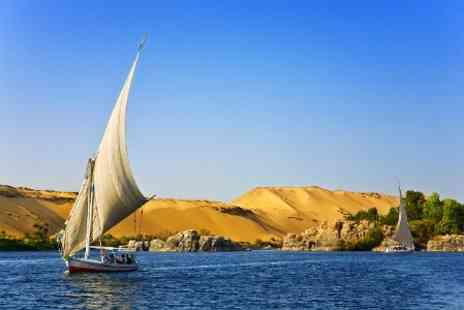 Sharm Tourism Bureau - Seven Night Nile Cruise With Full Board Transfers and Attractions Entry For Two - Save 47%
