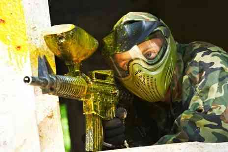 Point Blank Paintball - VIP Package For Six People - Save 93%