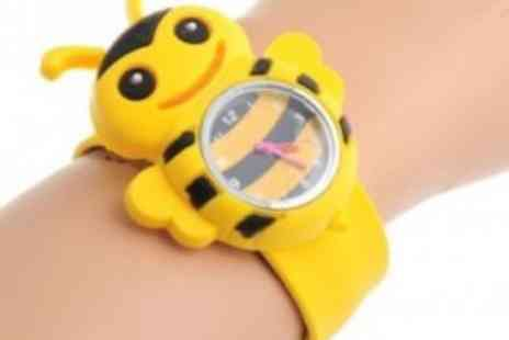 Stylepotential.com - Snappy fun with these colourful & friendly Kids Snap Watches - Save 70%