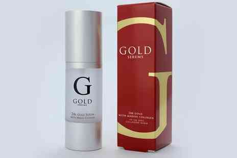 Skin Research - 24 Carat Gold Serum - Save 84%