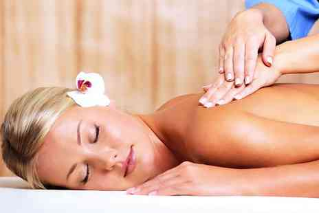 Mae Brow & Beauty Studio - Back neck and shoulder massage and express facial - Save 67%