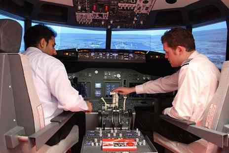 iPilot - 30 minute flight simulation experience with iPilot, Shepherds Bush - Save 50%