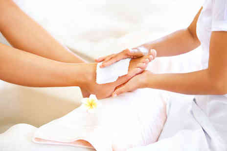 Evidence Beauty - Callus treatment and spa pedicure with paraffin wax - Save 65%
