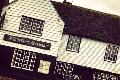Ye Olde Smugglers Inne - One night Stay For Two With Meal - Save 54%