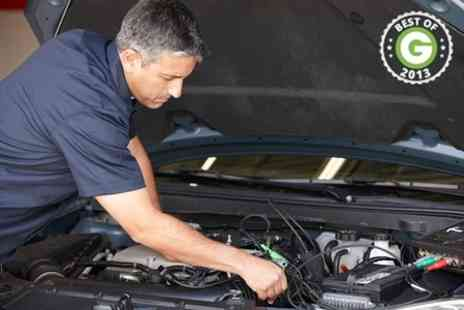 Executive MOT and Service Centre - 52 Point Service With Collection  - Save 84%