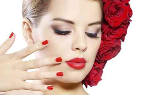 La Beautique - Manicure or pedicure using Shellac gel polish - Save 80%
